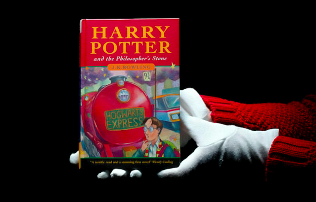 <em>A rare Harry Potter book with a title mis-spelling sold for almost £70,000 at auction (SWNS)</em>