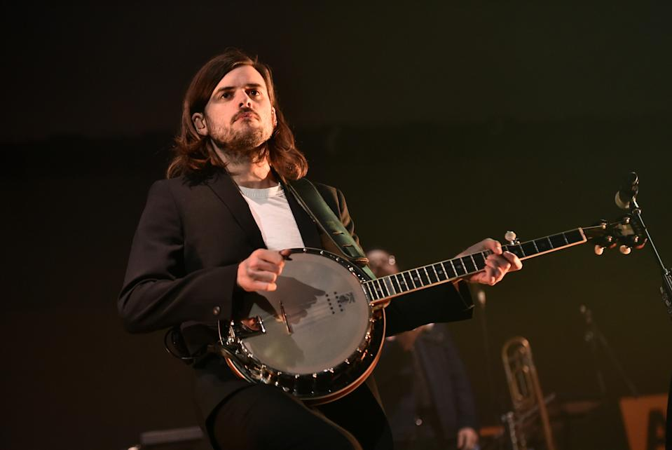 Winston Marshall said his bandmates had been targeted prior to his exit. (Photo by Steven Ferdman/Getty Images For RADIO.COM)