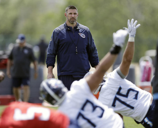 Can they succeed? Tennessee Titans head coach Mike Vrabel is among five rookie head coaches this season. (AP)