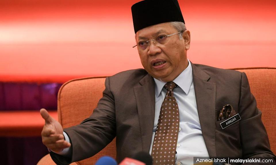 Zahid may not be in the 'right frame of mind' - Annuar Musa