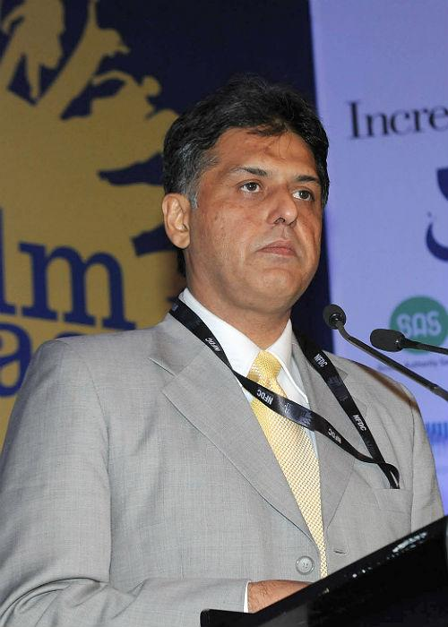"""<p class=""""MsoNormal""""><b>Manish Tewari</b>: Manish Tewari, currently serving as Union Minister for Information and Broadcasting, comes from a prominent political family in Punjab and has also served as the President of the Indian Youth Congress back in the late 90s. His graceful sense of style, whether a two-piece suit or a crisp white shirt and Nehru jacket, serves well his position as Congress spokesperson.</p>"""