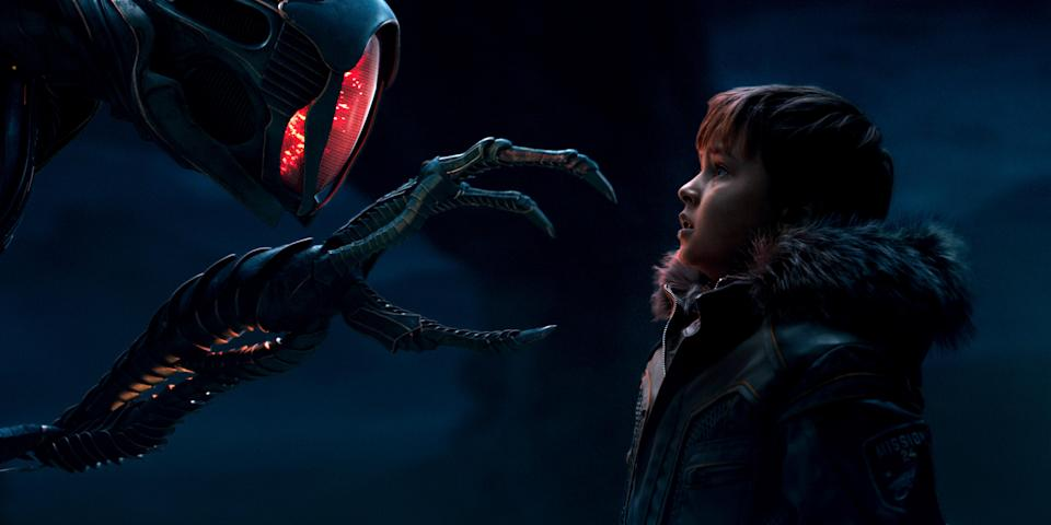 Maxwell Jenkins as Will Robinson in <em>Lost in Space</em>. (Photo: Netflix)