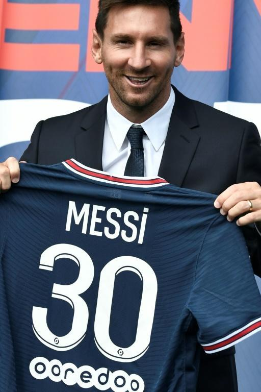 Messi will wear the number 30 shirt at PSG
