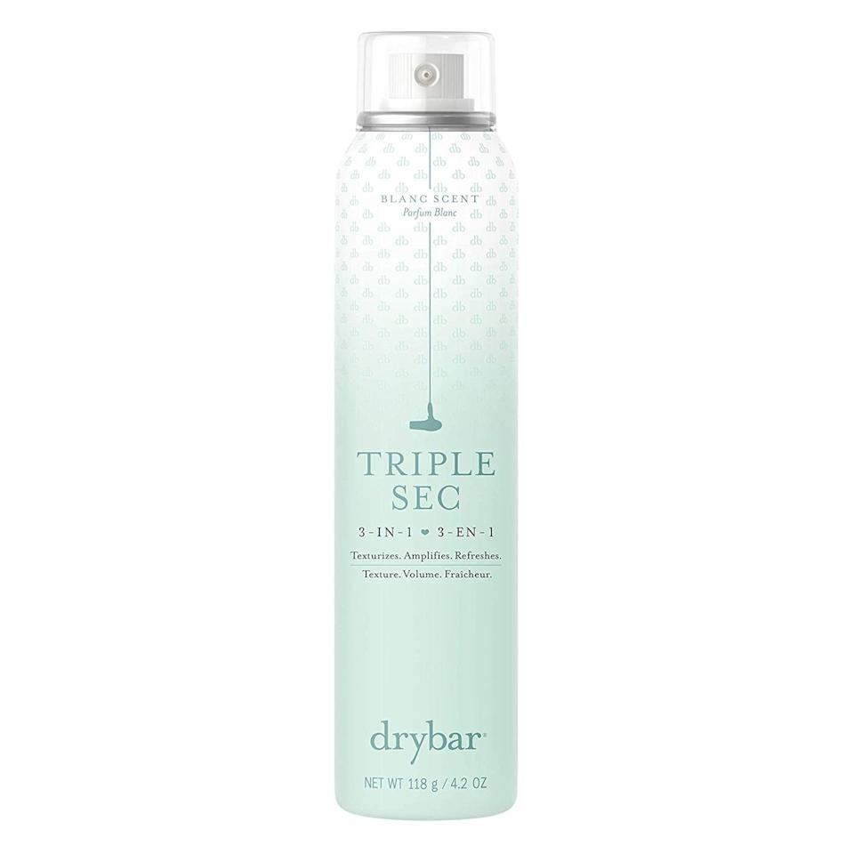 """<p>Drybar's finishing spray is one of its top sellers (so you <em>know</em> it's good) and is ideal for anyone who wants to extend a blowout, add instant volume, or refresh a second-day style. In addition to being lightweight and easy to use, it also has a delicious scent made up of coconut, amber, and vanilla.</p> <p><del>$26</del> <strong>$13</strong> (<a href=""""https://ad.doubleclick.net/ddm/clk/452934832;257149326;o"""" rel=""""nofollow"""">Shop Now</a>)</p>"""