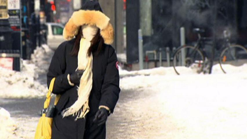 Temperatures across the country reached negative double-digits as Canadians bundled up against the biting cold, CBC's Cameron MacIntosh reports