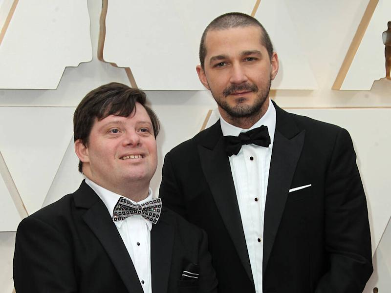 Shia LaBeouf sparks marriage rumours with wedding ring at Oscars