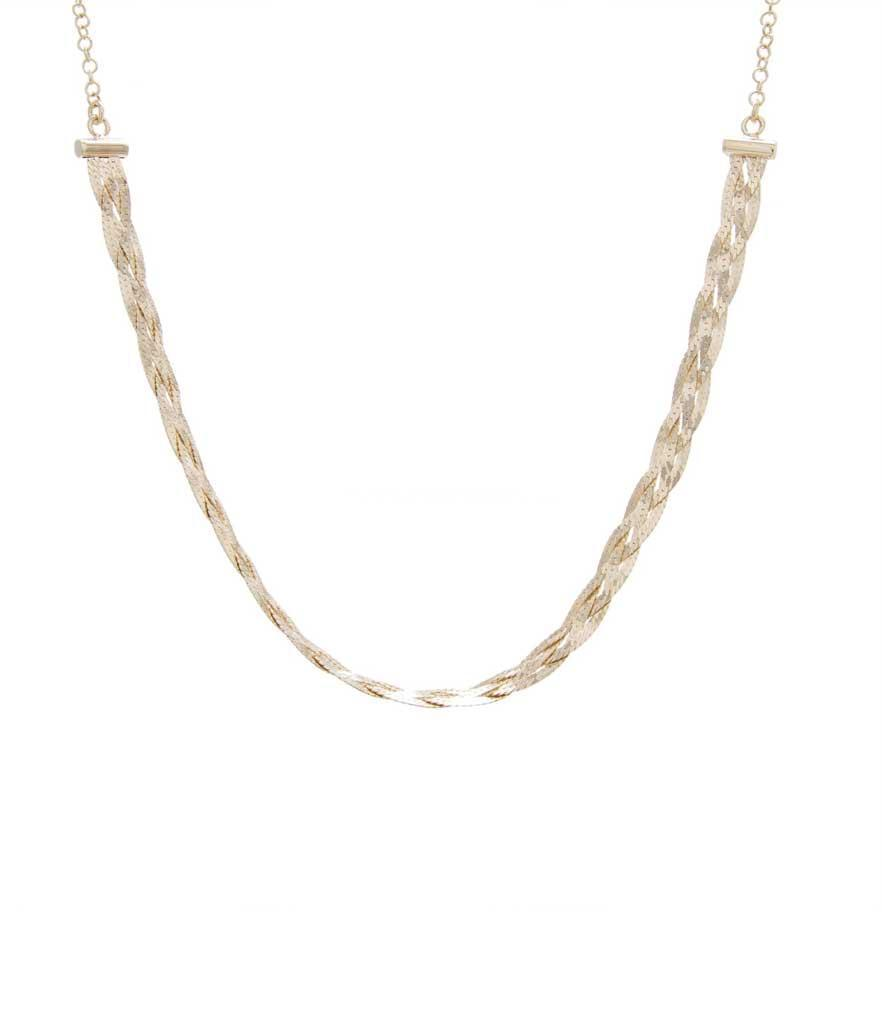 "<p>Braided Choker, $95, <a href=""https://fave.co/2ROzNES"" rel=""nofollow noopener"" target=""_blank"" data-ylk=""slk:alexmikajewelry.com"" class=""link rapid-noclick-resp"">alexmikajewelry.com</a> </p>"