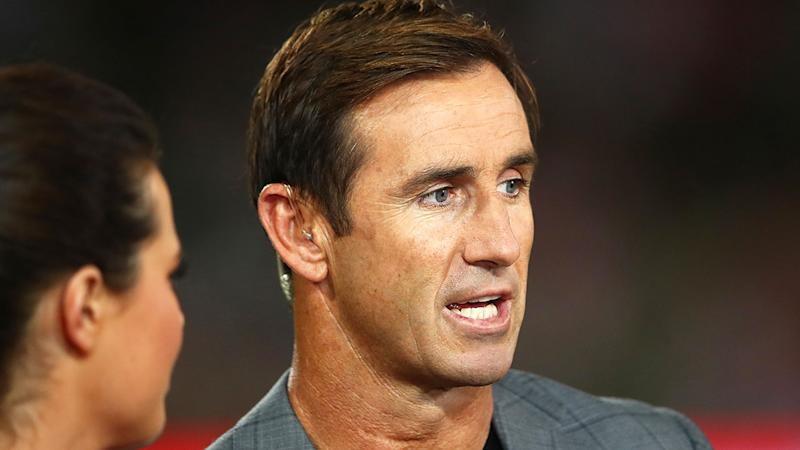 Pictured here, Andrew Johns has given NRL players some pointed advice to think about while the season is shut down.