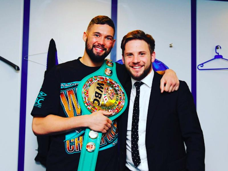 Tony Bellew and Frank Smith