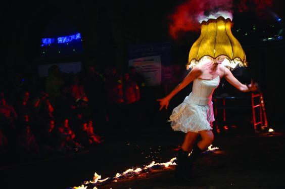 Love Light Norwich will be packed with fire shows and food as well has some traditional folklore (C J Grifiths)