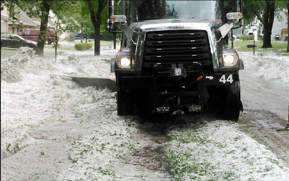 The 2017 U.S. Midwest hailstorm caused $2.5 billion in damages just in Minnesota