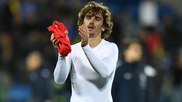 Antoine Griezmann recorded a goal and an assist as France eased to a 2-0 win over Albania in their final Euro 2020 qualifier.