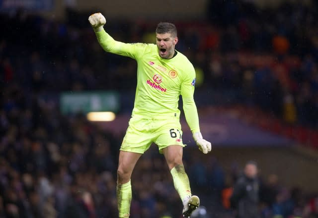 Fraser Forster's loan spell is coming to an end (Jeff Holmes/PA)