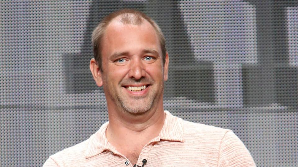 BEVERLY HILLS, CA - JULY 12:  Writer/creator Trey Parker speaks onstage during the 'South Park' panel at Hulu's TCA Presentation at The Beverly Hilton Hotel on July 12, 2014 in Beverly Hills, California.