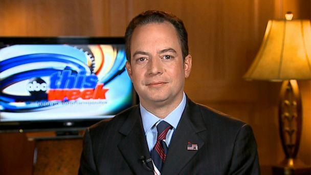 ABC reince priebus this week jt 130818 16x9 608 RNC Chair Reince Priebus on GOP Rift: A Healthy Family Debate Is Not a Bad Thing at All