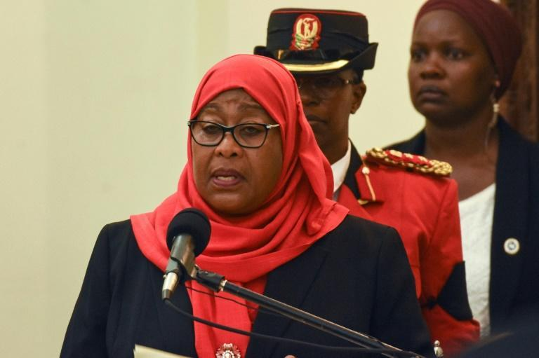 Tanzanian President Samia Suluhu Hassan took over last month from John Magufuli, who downplayed the scale of the Covid pandemic