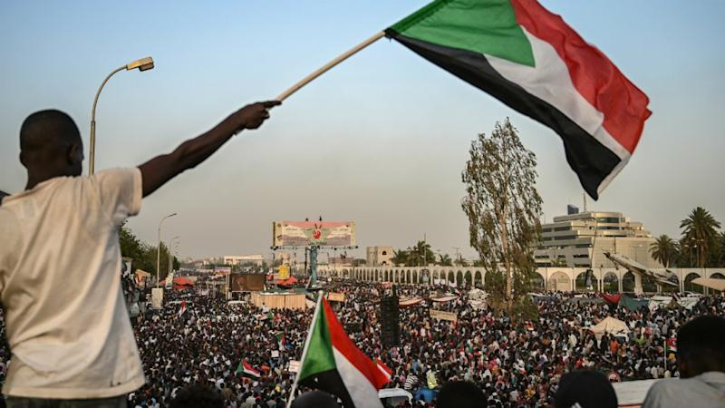Huge crowds gather in Sudan to demand civilian rule