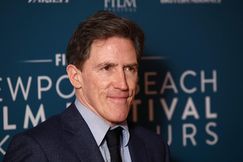 LONDON, ENGLAND - FEBRUARY 07: Rob Brydon attends the Newport Beach Film Festival UK honours event at The Langham Hotel on February 07, 2019 in London, England. (Photo by John Phillips/Getty Images)