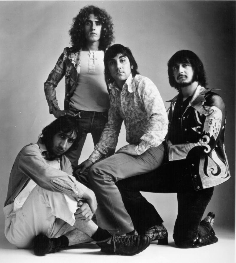 Pete Townshend, Roger Daltrey, Keith Moon, and John Entwistle