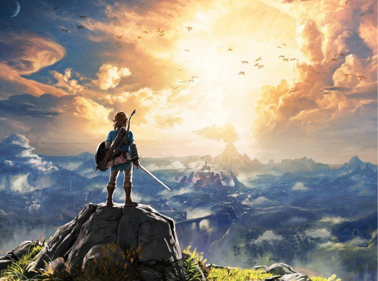 The Legend of Zelda Breath of the Wild for Nintendo Switch.