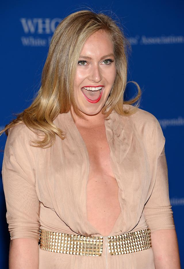 <p>Snowboarder Jamie Anderson attends the White House Correspondents' Association Dinner at the Washington Hilton Hotel, Saturday, May 3, 2014, in Washington. (Photo by Evan Agostini/Invision/AP) </p>