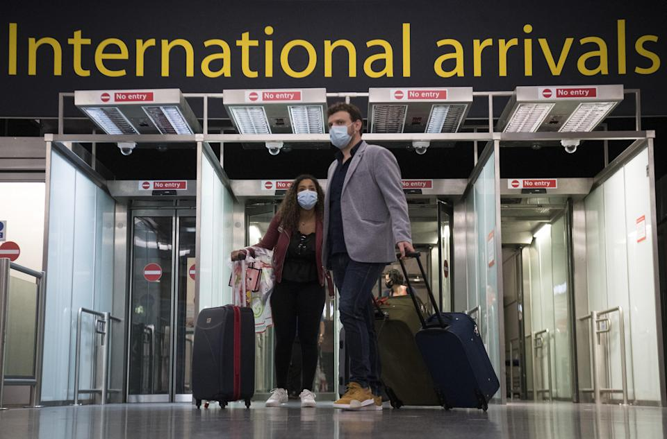 Travel has been severely restricted over the last year (PA)