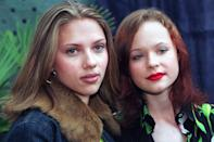 <p>The young starlet, alongside actress Thora Birch, had golden highlights and wore delicate gold hoops to the screening of <em>Ghost World</em> at the 36th Karlovy Vary International Film Festival in 2001.</p>