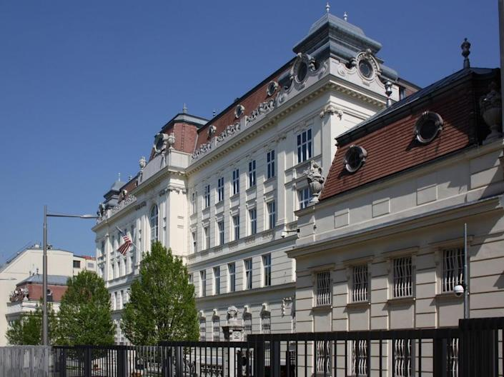 Offices at the US embassy in Vienna have been closed due to the outbreak of Havana Syndrome symptoms (Bwag/Commons)