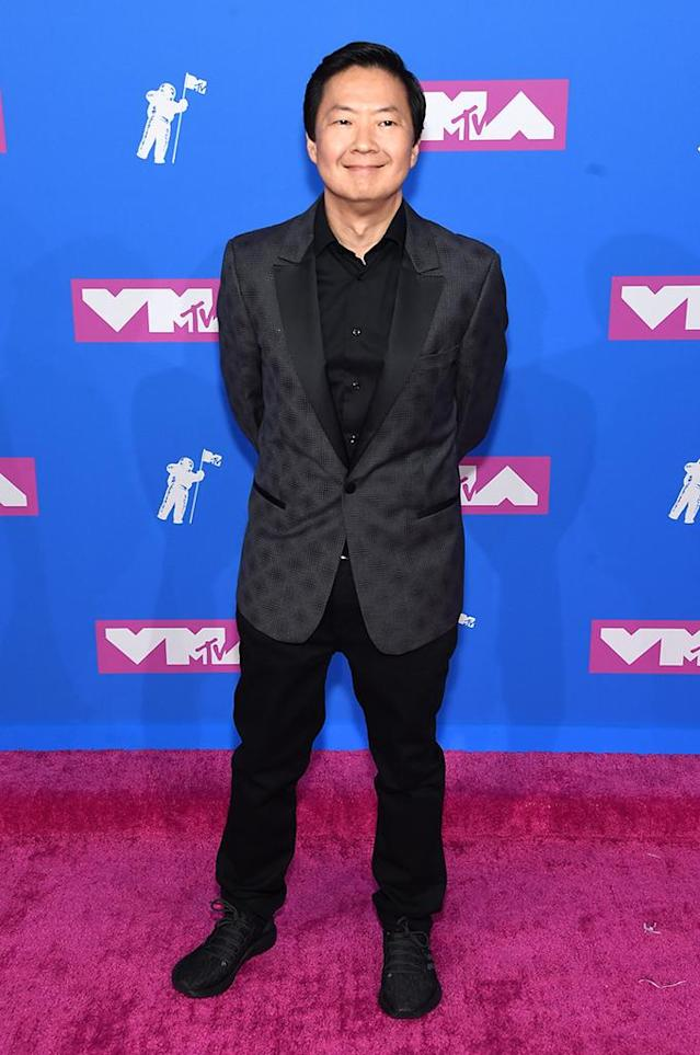 <p>Ken Jeong attends the 2018 MTV Video Music Awards at Radio City Music Hall on August 20, 2018 in New York City. (Photo: Jamie McCarthy/Getty Images) </p>