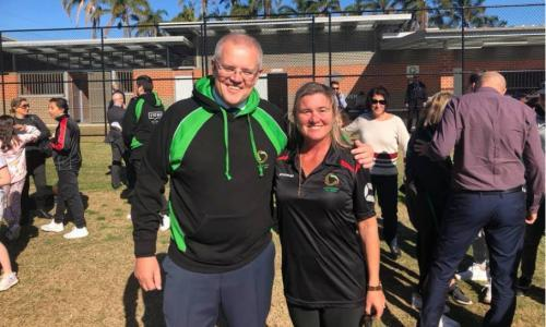 Scott Morrison personally announced sports grants for clubs in his electorate