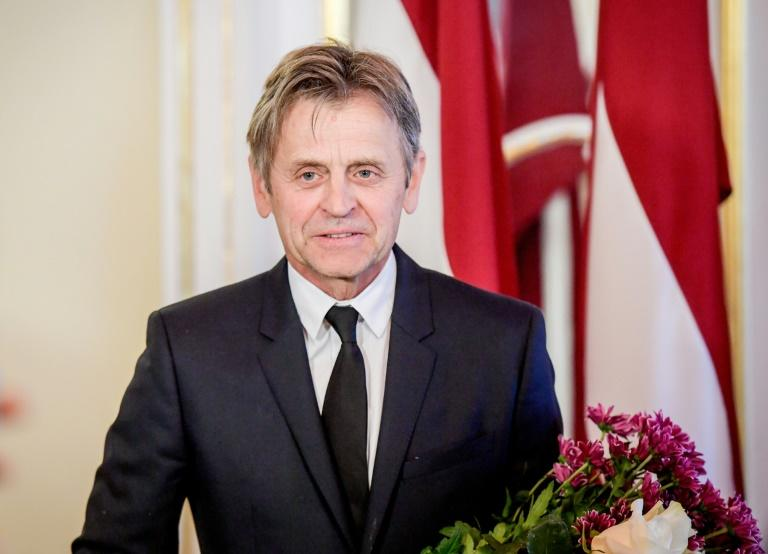 Mikhail Baryshnikov at a ceremony in Riga received honorary citizenship from ex-Soviet Latvia where he was born