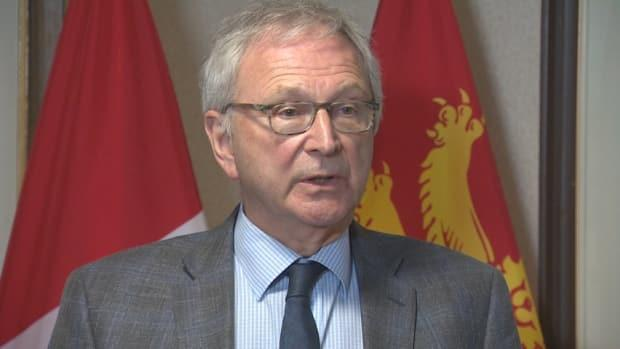 Premier Blaine Higgs said he's looking to the experience of the COVID-19 task force, which was given the authority to look at all aspects of the health-care system's response, as the province enters a 'whole rethink' of the health system. (Ed Hunter/CBC - image credit)