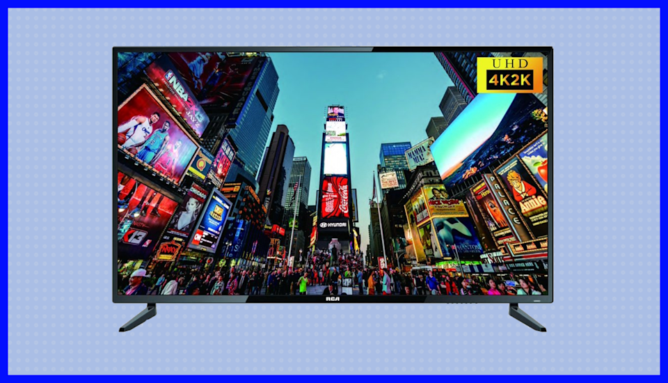 This RCA 55-inch Class 4K Ultra HD LED TV is on sale for $260, or $440 off. (Photo: Walmart)