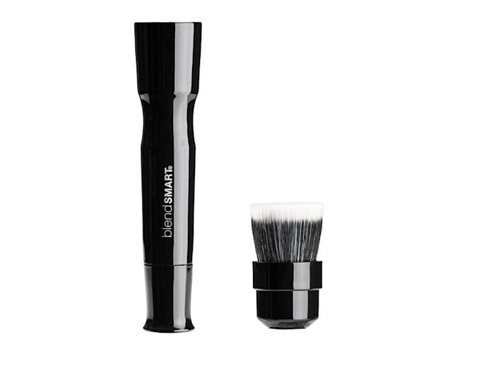 <p>Anyone who is makeup-savvy knows how much time and effort you can spend in the morning applying foundation. The <span>Blendsmart Powered Foundation Brush</span> ($69) can be used with powder or liquid foundation, and since it evenly distributes your makeup, you'll probably use less of it overall. The rotating antimicrobial bristles provide a thoroughly blended, perfect finish.</p>