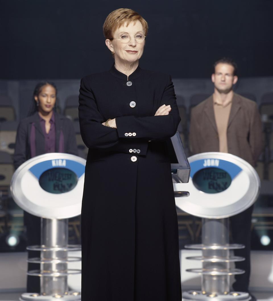 Anne Robinson was well known for her put-downs of the contestants. (Chris Haston/NBCU Photo Bank)