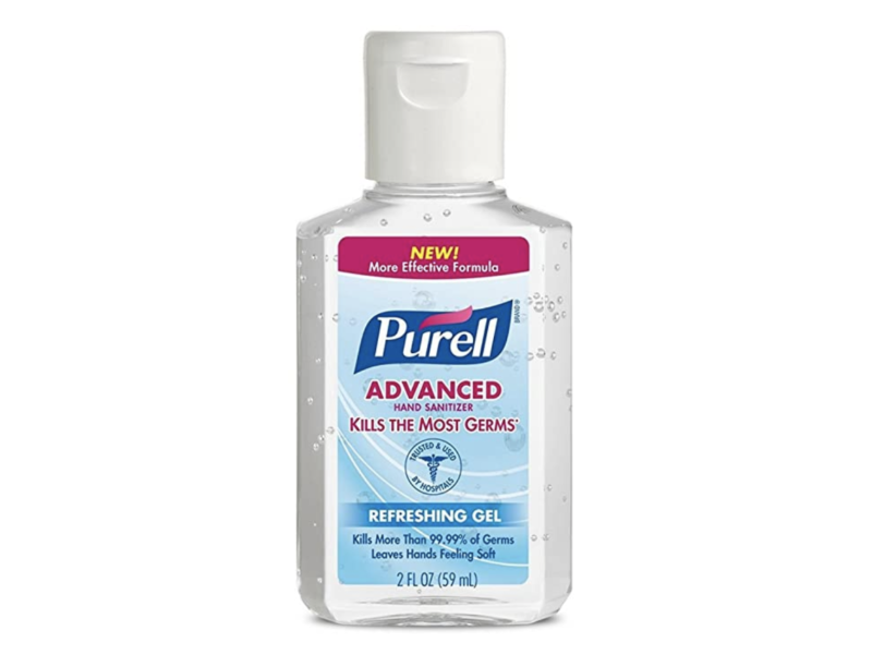Purell Advanced Hand Sanitizer Refreshing Gel 2 oz (Pack of 6). (Photo: Amazon)