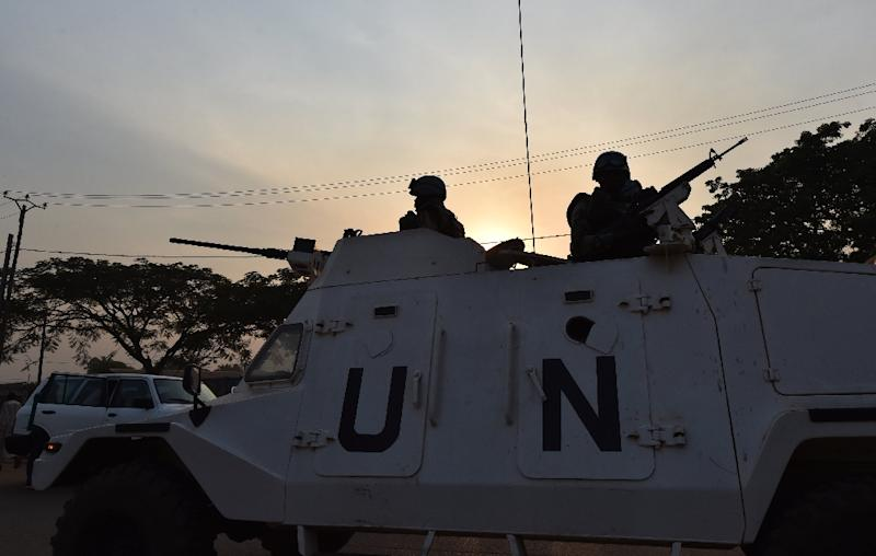 The UN Security Council unanimously adopted a French-drafted resolution that extends MINUSCA until November 15, 2017 (AFP Photo/Issouf Sanogo)