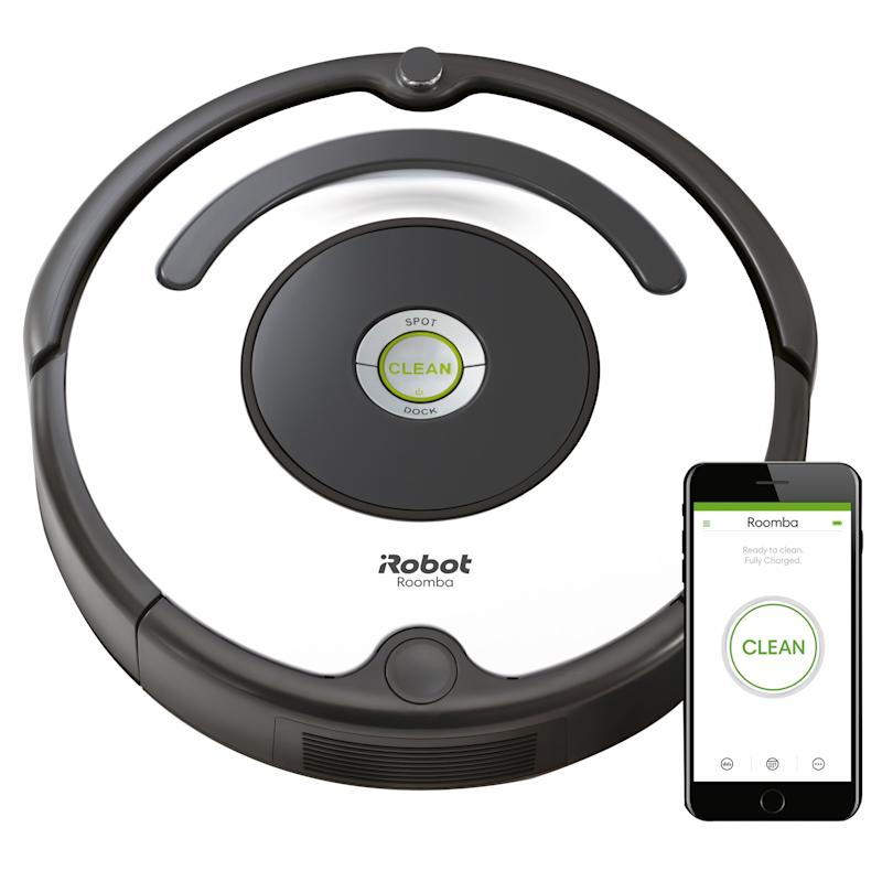 iRobot Roomba 670 Robot Vacuum-Wi-Fi Connectivity. (Photo: Walmart)