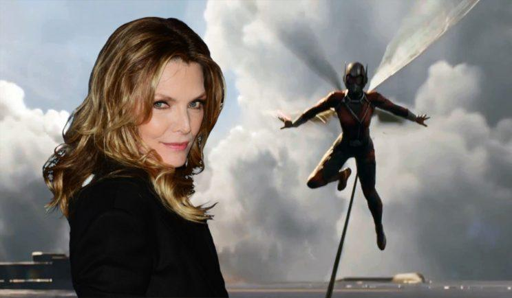 Michelle Pfeiffer joins Ant-Man and The Wasp - Credit: Marvel