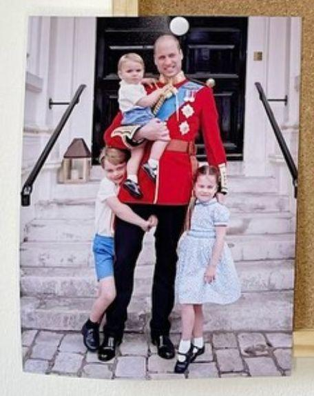 A closer look at the never-before-seen photo shared on the Duke and Duchess of Cambridge's social media accounts for Father's Day. (Photo: Kensington Palace)