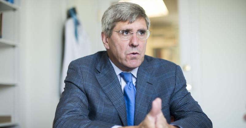 Stephen Moore of The Heritage Foundation is interviewed by CQ in his Washington office, August 31, 2016.