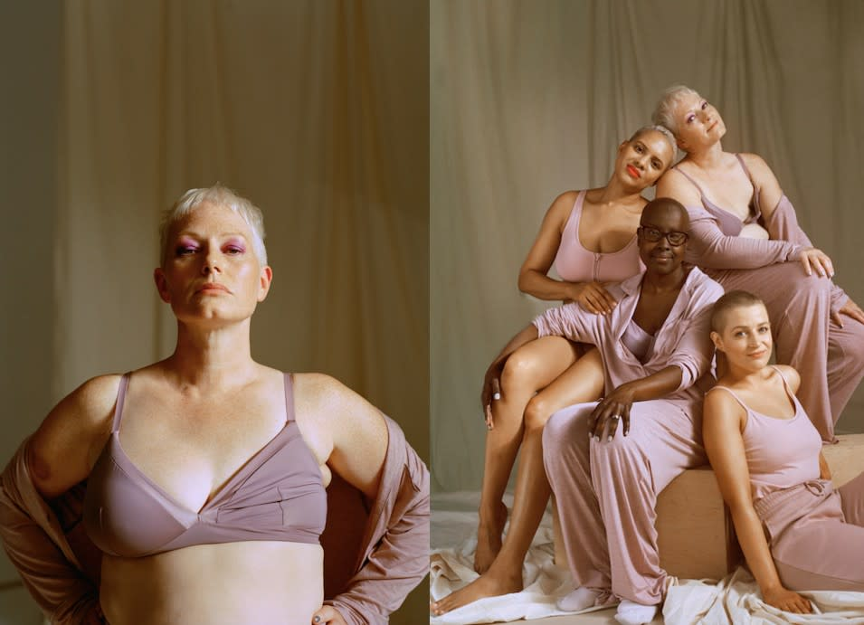 Primark has been praised for featuring models who have all experienced breast cancer in their new lingerie campaign. (Primark)