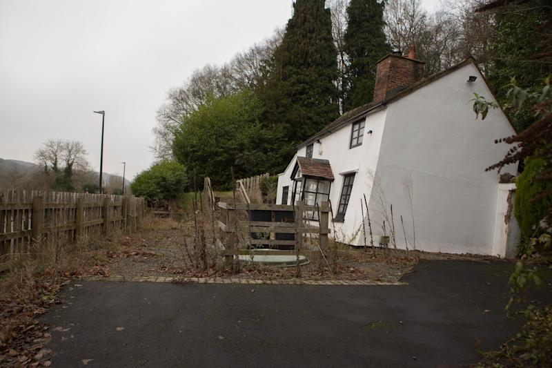 According to the British Geographical Survey, the property is built on an area heavily affected by a landslide.