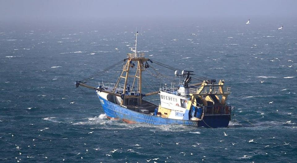 A fishing boat at work in the English Channel (Gareth Fuller/PA) (PA Archive)