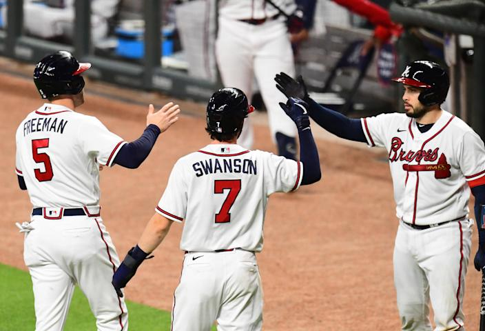 Braves, Cubs and Indians punch tickets to MLB postseason. (Photo by Scott Cunningham/Getty Images)