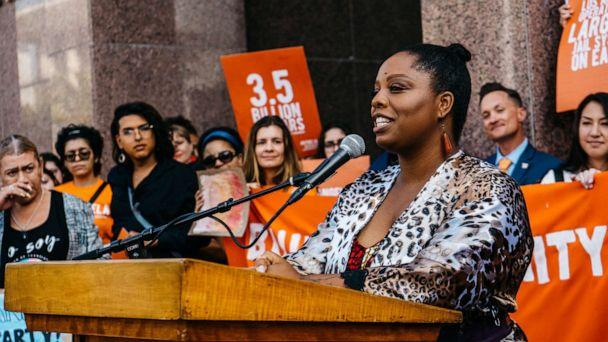 Patrisse Cullors is the co-founder of Black Lives Matter and chair of Reform L.A. Jails. (Giovanni Solis)