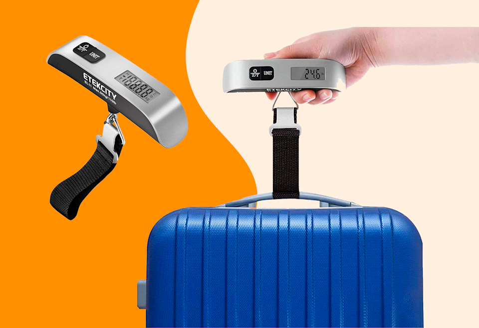 Get one of our favorite luggage scales for less than $9.