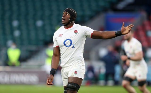 Maro Itoje scored the match-winning try against France