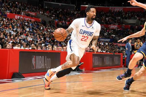 LOS ANGELES, CA - APRIL 10: Wilson Chandler #22 of the LA Clippers handles the ball against the Utah Jazz on April 10, 2019 at STAPLES Center in Los Angeles, California. (Photo by Andrew D. Bernstein/NBAE via Getty Images)
