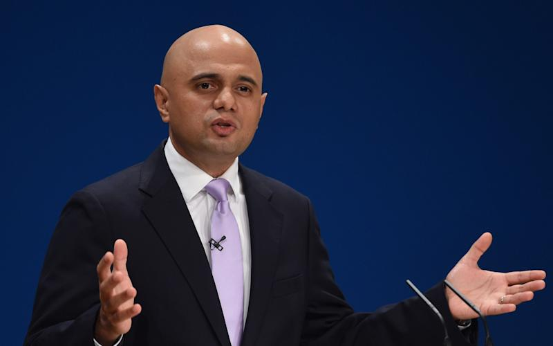 Sajid Javid - Credit:  Joe Giddens/ Joe Giddens